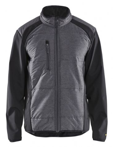 Blaklader 4929 Hybrid Jacket (Black/Dark Grey)
